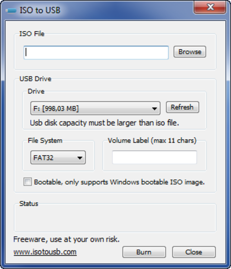 Download ISO to USB - USB Boot...